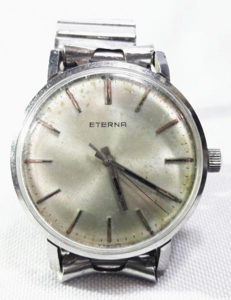fe8a16e35c2 ETERNA MATIC - Antigo e elegante relógio de pulso