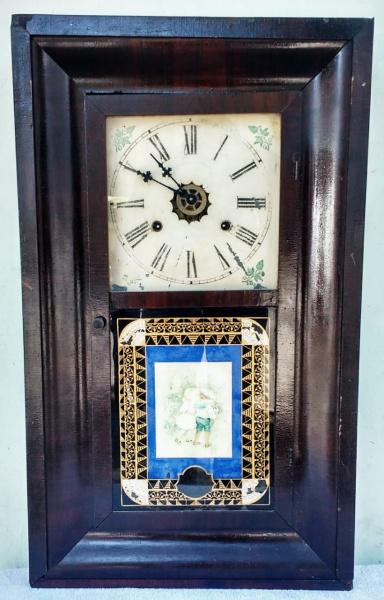 6b7b14ee224 Belíssimo e antigo relógio americano