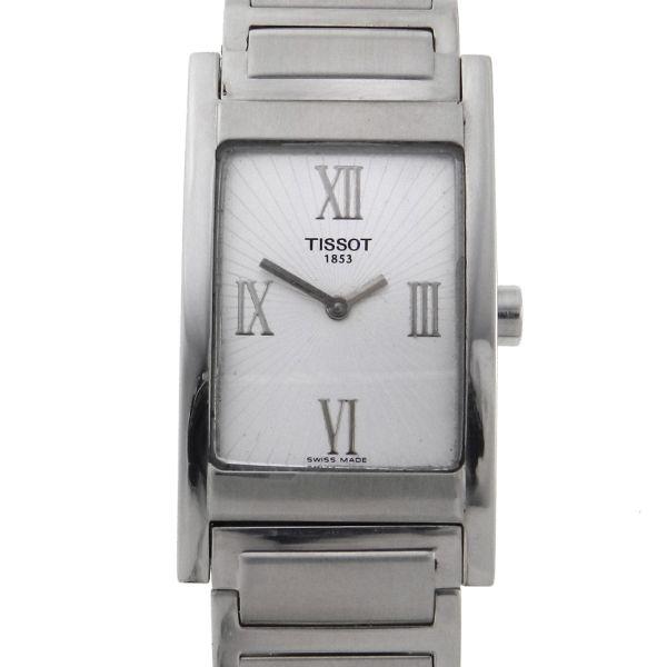 31b82e40168 Relógio Tissot - Caixa e pulseira em aço - Tamanho da caixa 23mm x 31mm -  Funções  Horas e Minutos - Movimento Quartz - Visor em Cristal de Safira