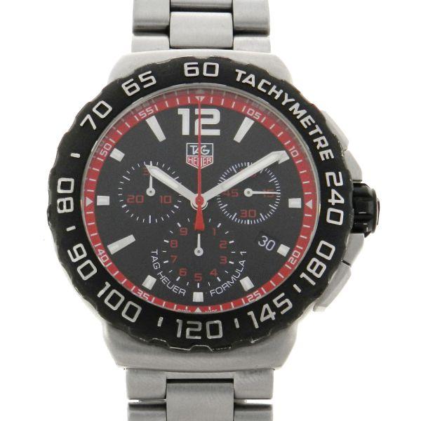 deaee18fd8b Relógio Tag Heuer Formula 1 Chronograph - Caixa e pulseira em aço - Tamanho  da caixa 42mm - Funções  Horas