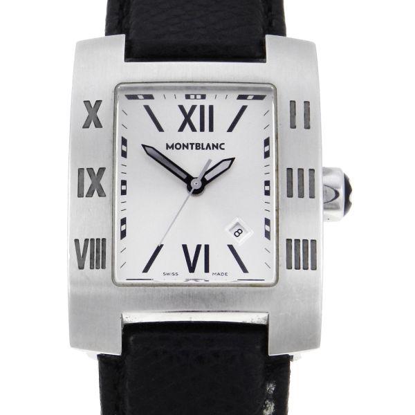 37a70cdc3a9 Relógio Mont Blanc Profile Large - Caixa em aço - Pulseira em couro -  Tamanho da caixa 23mm x 30mm (Sem contar garras ou coroa) - Funções  Horas  e .