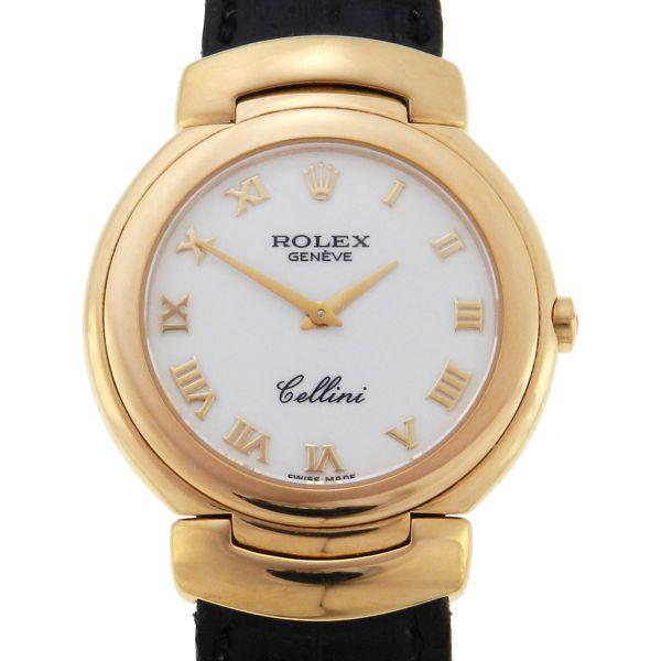 dd97e45a953 Relógio Rolex Cellini - Caixa em ouro amarelo 18k 750 - Pulseira em couro -  Tamanho da caixa 32mm - Funções  Horas e Minutos - Movimento quartz - Visor  em ...