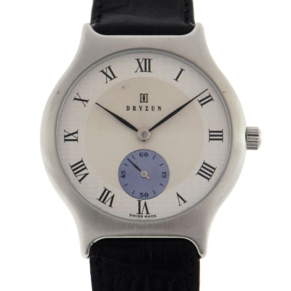 ecb29701e9d Relógio Dryzun - Caixa em aço - Pulseira em couro - Tamanho da caixa  34mm  - Funções  Horas