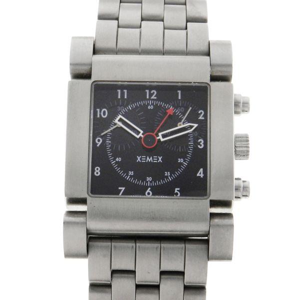 8776db6da56 Relógio Xemex Avenue 2300 Chronograph - Caixa e pulseira em aço - Tamanho  da caixa  31mm x 34.5mm - Funções  Horas