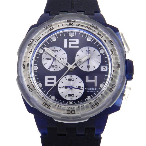 32fcf962b3f Relógio Swatch - Caixa em polímero - Pulseira em borracha - Tamanho da  caixa 42mm ( Sem contar garras ou coroa) - Funções  Horas