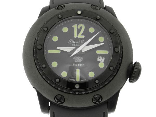 f54cf48d4a8 Relógio Glam Rock Racetrack Collection - Caixa em aço com bedel em cerâmica  - Pulseira em borracha - Tamanho da caixa  50mm - Funções  Horas