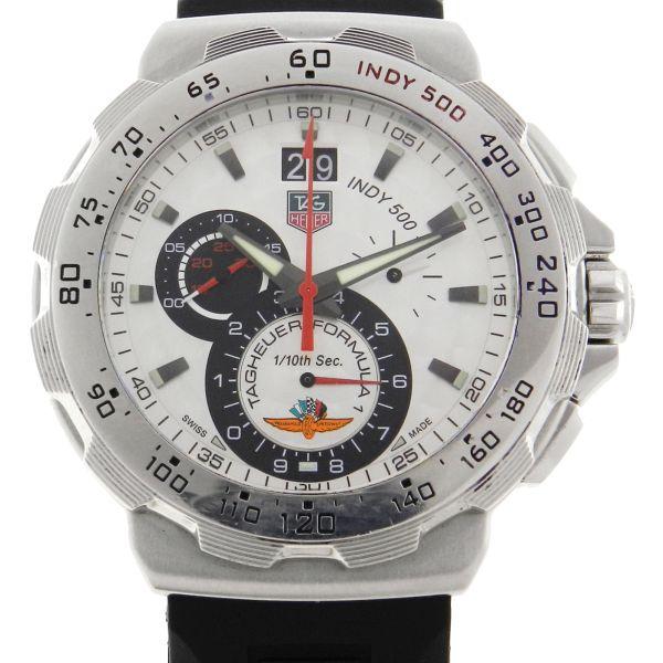27294cc32b0 Relógio Tag Heuer Edição Especial Indy 500 - Caixa em aço - Pulseira em  borracha - Tamanho da Caixa 44mm - Funções  Horas