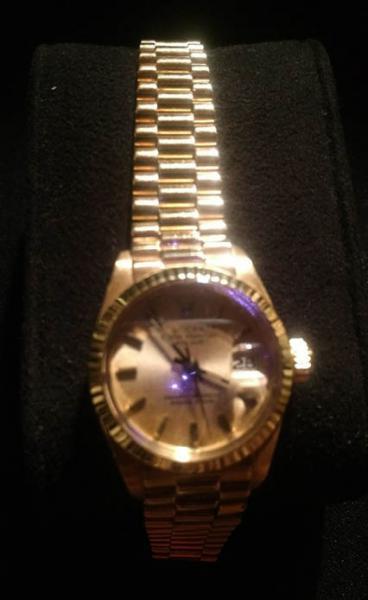 00011df5bb9 Rolex- Relógio Rolex feminino todo em ouro 18 klts modelo Day Date  Presidente