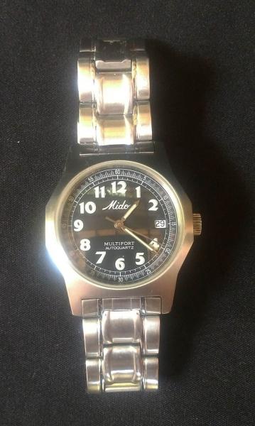 a3bf9bc99c5 Mido - Relógio masculino marca Mido caixa (4 cms dia.) e pulseira em aço .