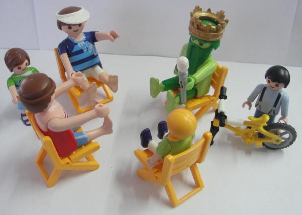 AM000, Lote com 37 peças de Playmobil, tamanhos diversos.