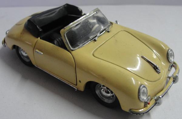AM000, Miniatura de carro, marca Detail Cars, modelo Porsche 356A Cabriolet, escala 1:43.