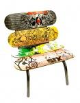 Cadeira Zanini de Zanine - poltrona Skate, medindo: 57 cm alt x 63 cm larg. RARIDADE