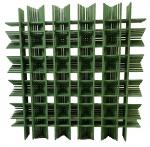 Joaquim TENREIRO (1906-1992) - escultura de parede, treliça, medindo: 98 cm x 98 cm
