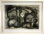 ROBERTO BURLE MARX- aquarela s/ papel colado em eucatex medindo 44 x 31 cm e 54 x 43 cm.
