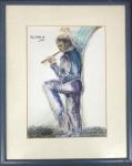 Reynaldo FONSECA (1925) - pastel s/ papel, medindo: 29 cm x 41 cm e 50 cm x 61 cm