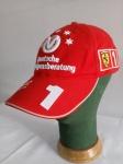 Boné Oficial Ferrari, Michael Schumacher 2003, Ajustável. Obs.: Expositor boné não acompanha