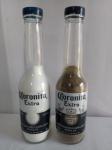 Saleiro e Pimenteiro Coronita, garrafa vidro, com condimentos; aprox. 20,5 x 5cm