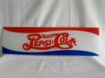 Placa Americana de Freezer, PEPSI, acrílico; aprox. 74 x 22cm