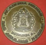 Medalha Agulhas Negras, Turma Missão Indigena Grande Dimensão, diâmetro de 90mm, imagem Portão Principal