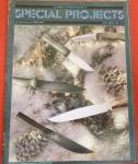 Revista especial sobre facas, todos tipos de caça de ataque etc..!! Made in USA, escrita em Inglês, totalmente ilustrada, colorida, edição de 1997, raridade