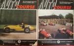 2 Revistas '' Auto Course '' Ano 1952 + ano 1951, edição inglesas, reportagens espetaculares da época, raridades!!!