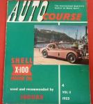 Revista Auto Course, ano de 1953, reportagens espetaculares!!! Origem Inglaterra, vários testes automobilísticos da época