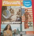 Revista Cinemim, edição n 4, ano de 1983, raridade!!! Várias reportagens especiais, galeria das estrelas - James Dean, o triunfo de GANDHI