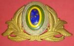 Colecionismo, emblema para Equipe Militar Feminina e Masculina!!! Peça original tamanho original de 12 cm x 7 cm na maior extremidade!!
