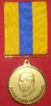 Medalha Assis Chateaubriano!! Com fita azul e amarela, cor ouro!!!