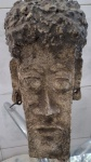 Arte Popular Brasileira - Escultura de Papel Marche. Med. 33cm de altura.