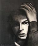 Evânio Alves - Técnica Mista sobre tela, retrato da Atriz sueca Ingrid Bergman. Assinado e datado no C.I.E. Obra med. 110x100cm. Não pode ser enviado pelos Correios.