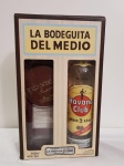 "KIT HAVANA CLUB ""LA BODEGUITA DEL MEDIO"" 750 ML +COPO+PORTA COPO EXCLUSIVO"