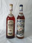 02 GARRAFAS DE MARTINI, BIANCO E ROSE