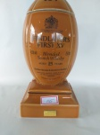 """FINDLATERS""""S FIRST XV, BLENDED SCOTCH WHISKY 15 YEARS OLD, PORCELANA , LACRADA, INTACTA"""