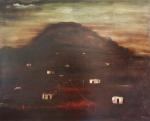 """ORLANDO TERUZ (1902 - 1984) """"Criança soltando Pipa"""", o.s.t., 81 X 99,5 cm, assinado no c.i.d. Assinado, datado (1968) e localizado (Rio) no verso - A/5897 - C/1170."""