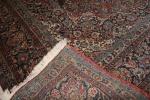 Tapete persa Kashan, 3,73 X 2,63 m = 9,80 m².