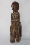 Ex voto em madeira entalhada, Brasil - século XVIII/XIX. Alt. 33 cm.