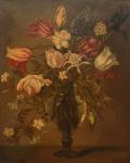 """NOGUEIRA JUNIOR - """"Vaso de Flores"""", o.s.t., 66 X 53 cm, assinado e datado (1974) no c.i.e"""