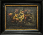 """Século XIX """"Vaso de Flores"""", o.s.t, 30 x 39 cm assinatura não identificada."""