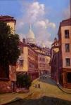 José Benigno Ribeiro - 1992 - O.S.T - Paris França - Medidas 80 x 58 cm