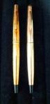 CANETAS PARKER - Lote contendo 2 canetas Parker no estado, sendo 1 modelo 1710 ouro 12k..
