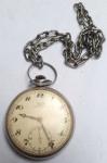 Relógio De Bolso Tissot Antimagnetique Swiss. Corrente não é original e relógio sem garantia de funcionamento