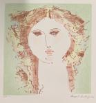 Augusto RODRIGUES (1913-1993) - gravura, (não emoldurado), medindo: 35 cm x 43 cm