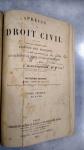 LACANTINERIE, BAUDRY *-  PRÉCIS de DROIT CIVIL ** PARIS, 1901, OBRA EM 3 VOLUMES
