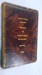 SIQUEIRA, GALDINO *** PROJETO DE CÓDIGO PENAL BRASILEIRO, ANO 1913. RARÍSSIMO EXEMPLAR , 214 pp. GALDINO SIQUEIRA É REVERENCIADO COMO O PAI DO CODIGO PENAL BRASILEIRO**** Galdino Siqueira (Mococa, SP, Brasil, 2 de janeiro de 1872 - Rio de Janeiro, RJ, Brasil, 24 de agosto de 1961)  muitas vezes referido, erroneamente, como Galdino de Siqueira  foi um jurista brasileiro que, tendo sido autor de anteprojeto de Código Penal na década de 1910, promotor do caso do assassinato do Senador José Gomes Pinheiro Machado naquela década e autor da obra Direito Penal brasileiro sobre o Código Penal de 1890, se tornou famoso por ter sido o primeiro a procurar edificar e consolidar a legislação, a jurisprudência e a doutrina penalistas como elementos constitutivos de uma verdadeira Ciência.