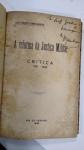 LIVRO RARO: A REFORMA DA JUSTIÇA MILITAR CRITICA 1921 - 1933, por:  MARIO TIBURCIO GOMES CARNEIRO*** AUTOGRAFADO
