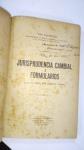 LIVRO: Jurisprudencia Cambial e Formularios , POR: Tito Fulgencio, SÃO PAULO ANO 1925