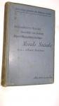 LIVRO: Morale Sociale: Lecons Professees Au College Libre Des Sciences Sociales...* ANO 1899