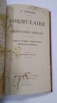 LIVRO: POR: G. PAPELIER ** FORMULAIRES DE  MATHEMATIQUES SPÉCIALES, PARIS, 1925** PICOS DE INSETO, MAS ESTÁ EM PLENAS CONDIÇÕES DE LEITURA