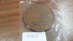 3302 – Medalha – 8º Congresso de Geografia  - 1926 – Espirito Santo – Victoria
